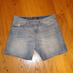 LUCKY BRAND THE ROLL UP JEAN SHORTS 8